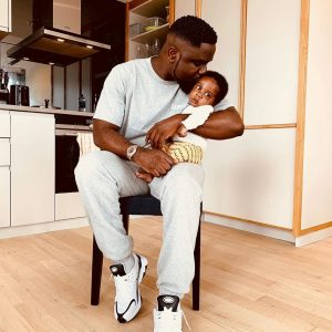 Just like Daddy: Meet Sarkodie's 2 Months Old Son (photo)
