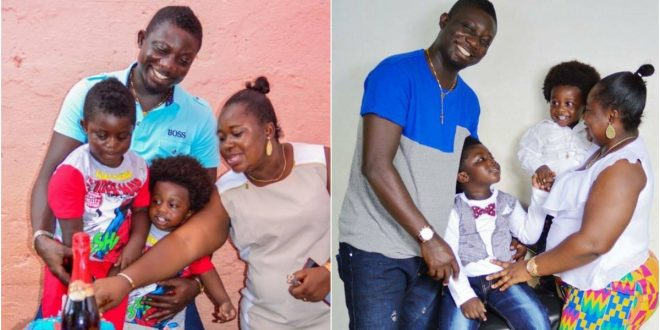Adorable photos of Bill Asamoah and His beautiful family surfaces