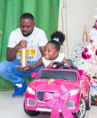 Yaa Pono and daughter