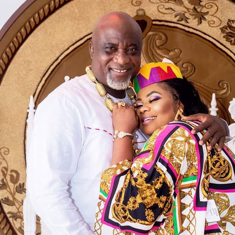 Gifty Osei and husband