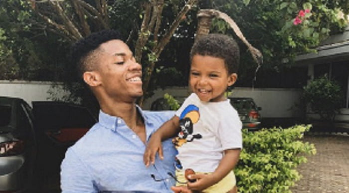 KiDi and son
