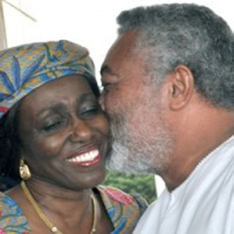 J,J Rawlings and wife