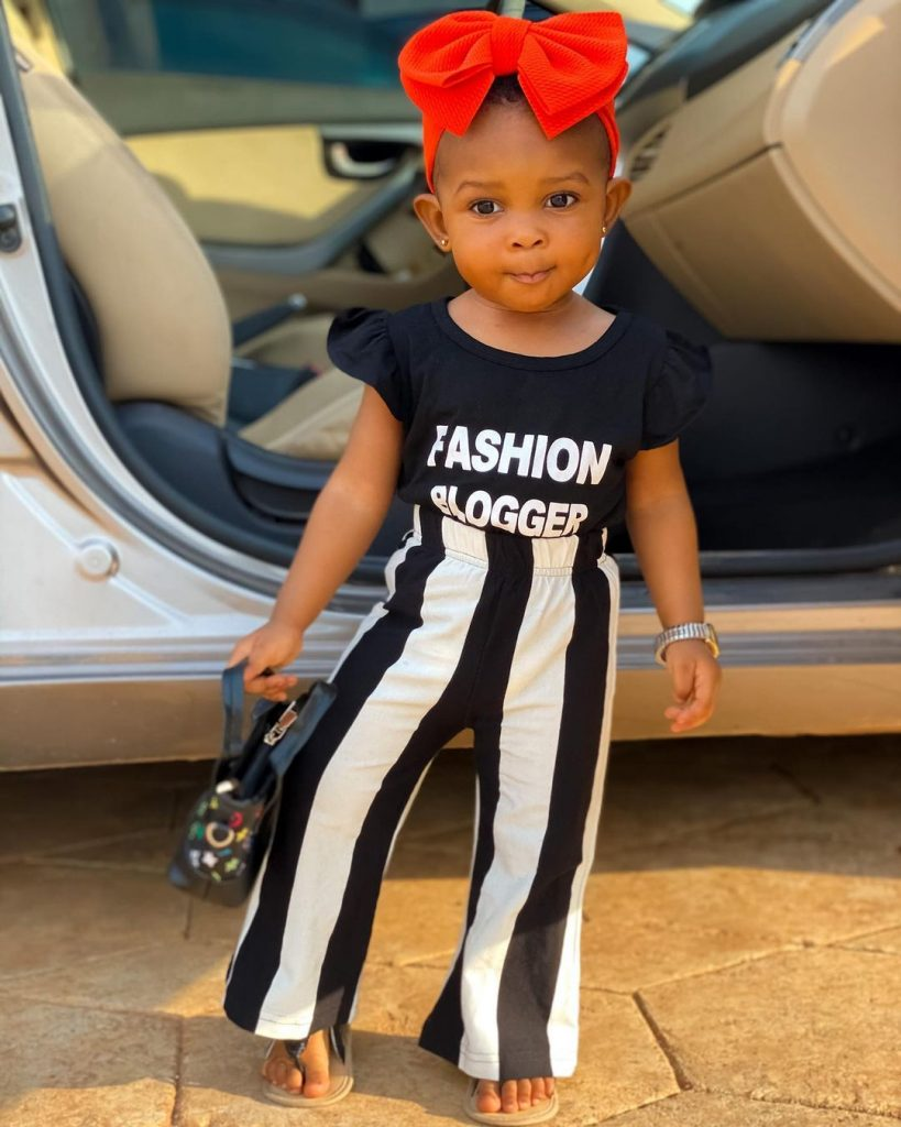 New photos of Strongman's baby girl looking all grown and cute surfaces