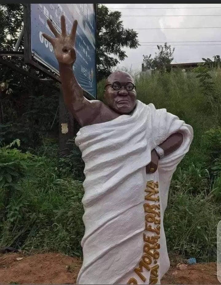 Nana Addo's statue