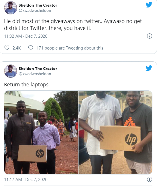 Politics is not about Fame - Netzins trolls John Dumelo for losing the elections