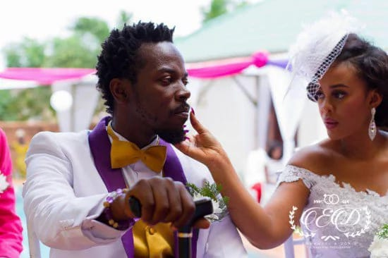 Throwback photos of Kwaw Kese and his wife's wedding surfaces