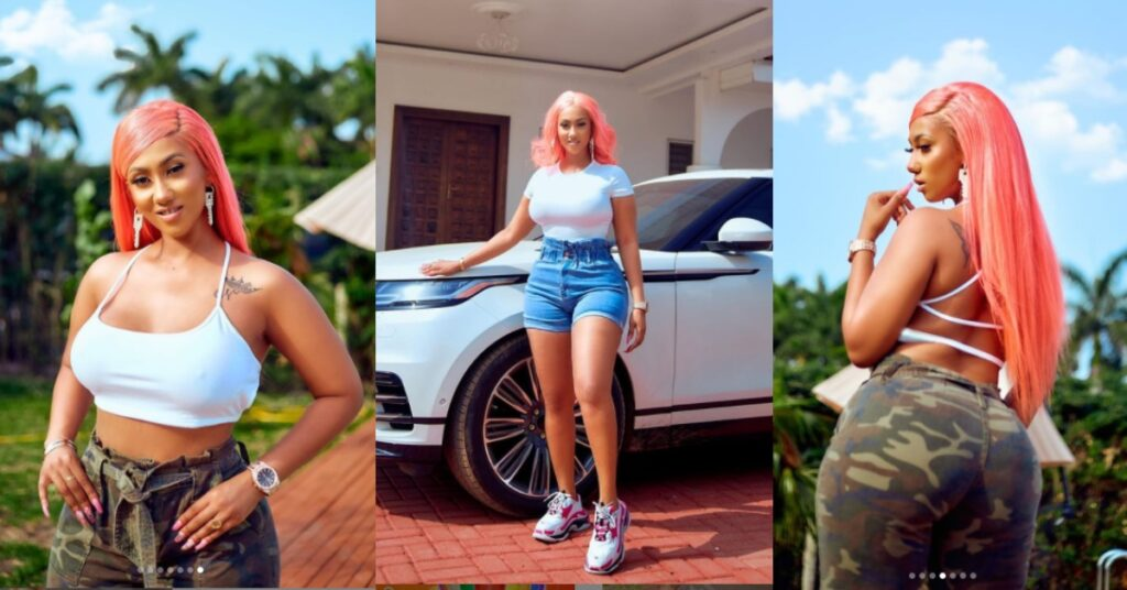 Hajia4Real floods the internet with hot and beautiful photos