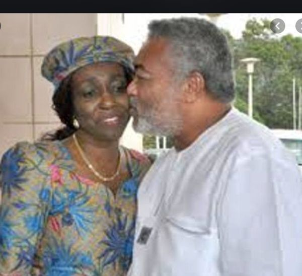 I was a virgin when I married Rawlings - Nana Konadu Agyeman reveals