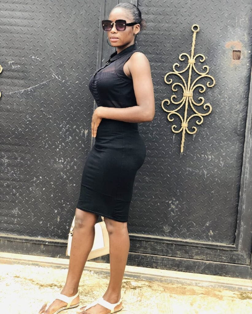 Here is the beautiful Nigerian lady who says 3 rounds is not enough for her