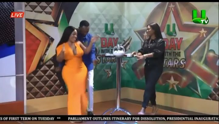 Married Salinko spotted grinding the huge artificial backside of Moesha Boduong in new video