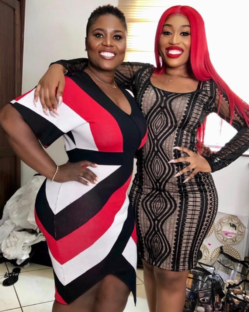 fantana and mother