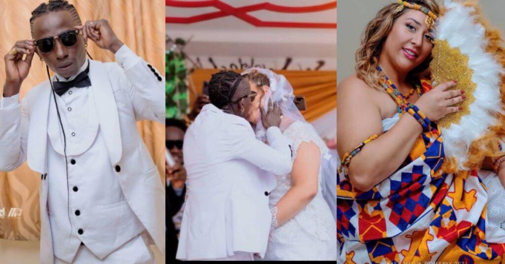 Here is Bedroom video from Patapaa and His Wife, Liha's Honeymoon