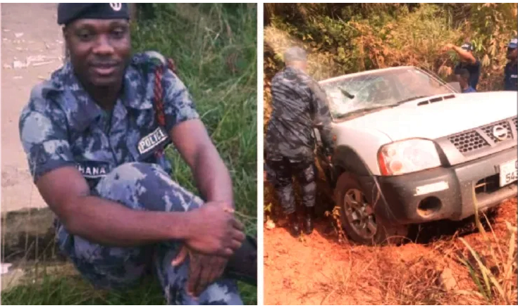 Armed robbers k!lls policeman and steals GHC500,000 from GCB