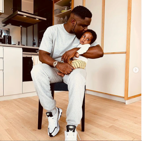 Rare Video of Sarkodie's handsome Son, MJ surfaces - Watch