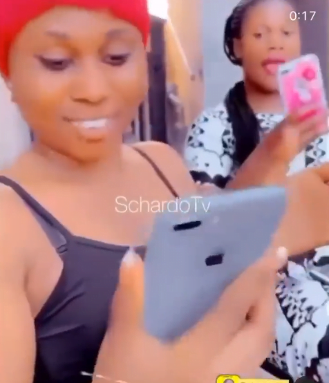 Beautiful slay queens flaunt their iPhones in a viral video