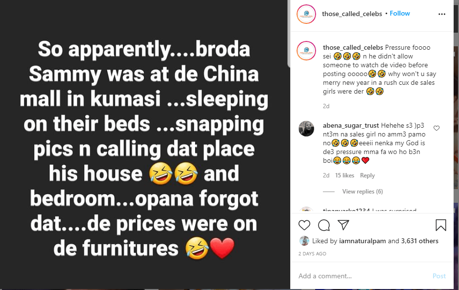Brother Sammy exposed claims China Mall is his house - Video