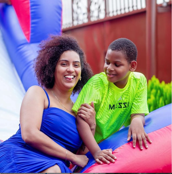 see photos of the handsome son of Juliet Ibrahim and Kwadwo Safo Jnr
