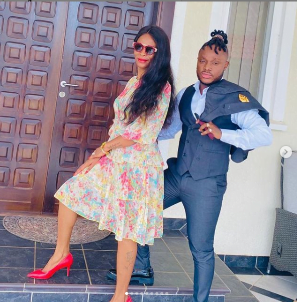 Keche Andrew and his billionaire wife show off their dancing skills in a new video