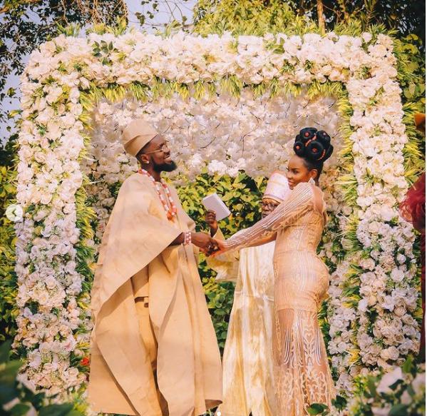 Patoranking and Yemi Alade ties the knot? - photos