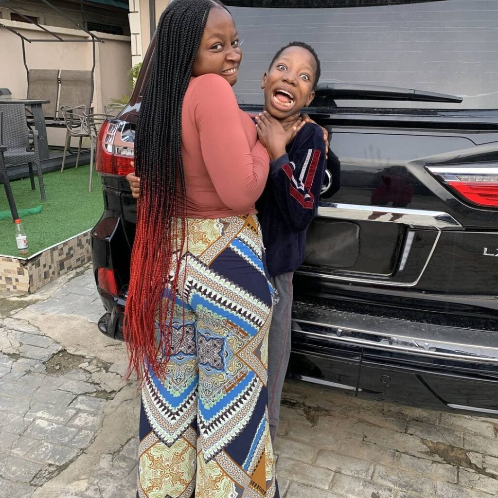 Emmanuella of Mark Angel Comedy buys new expensive Lexus LX570 Jeep for herself - Photos