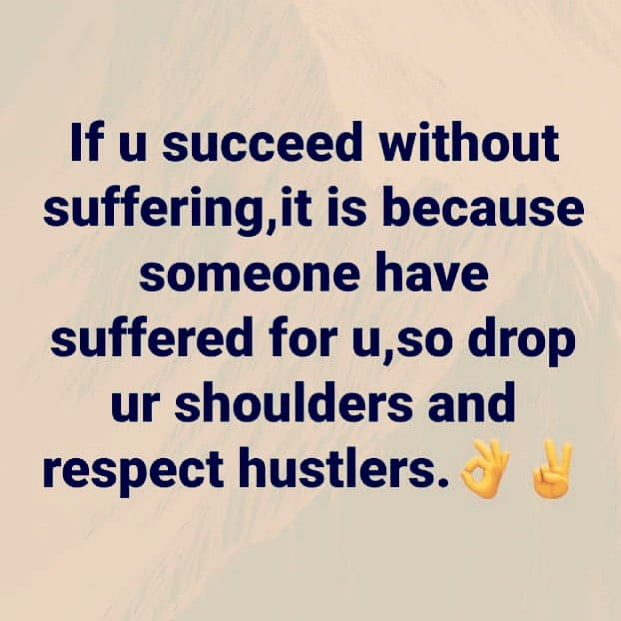 """""""Respect Hustlers If You Are Successful In Life""""- Ramsey Nuoah"""