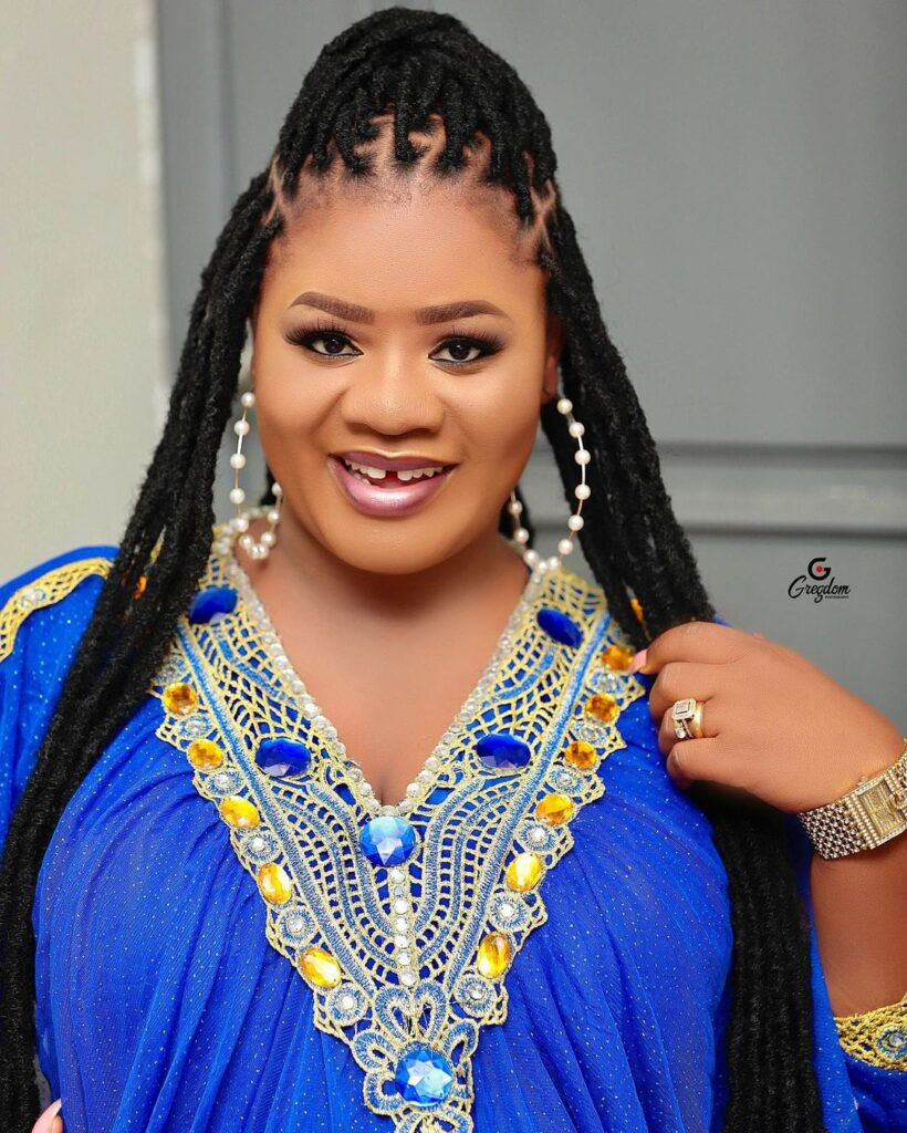 Obaapa Christy gives birth to a bouncy baby boy in the U.K
